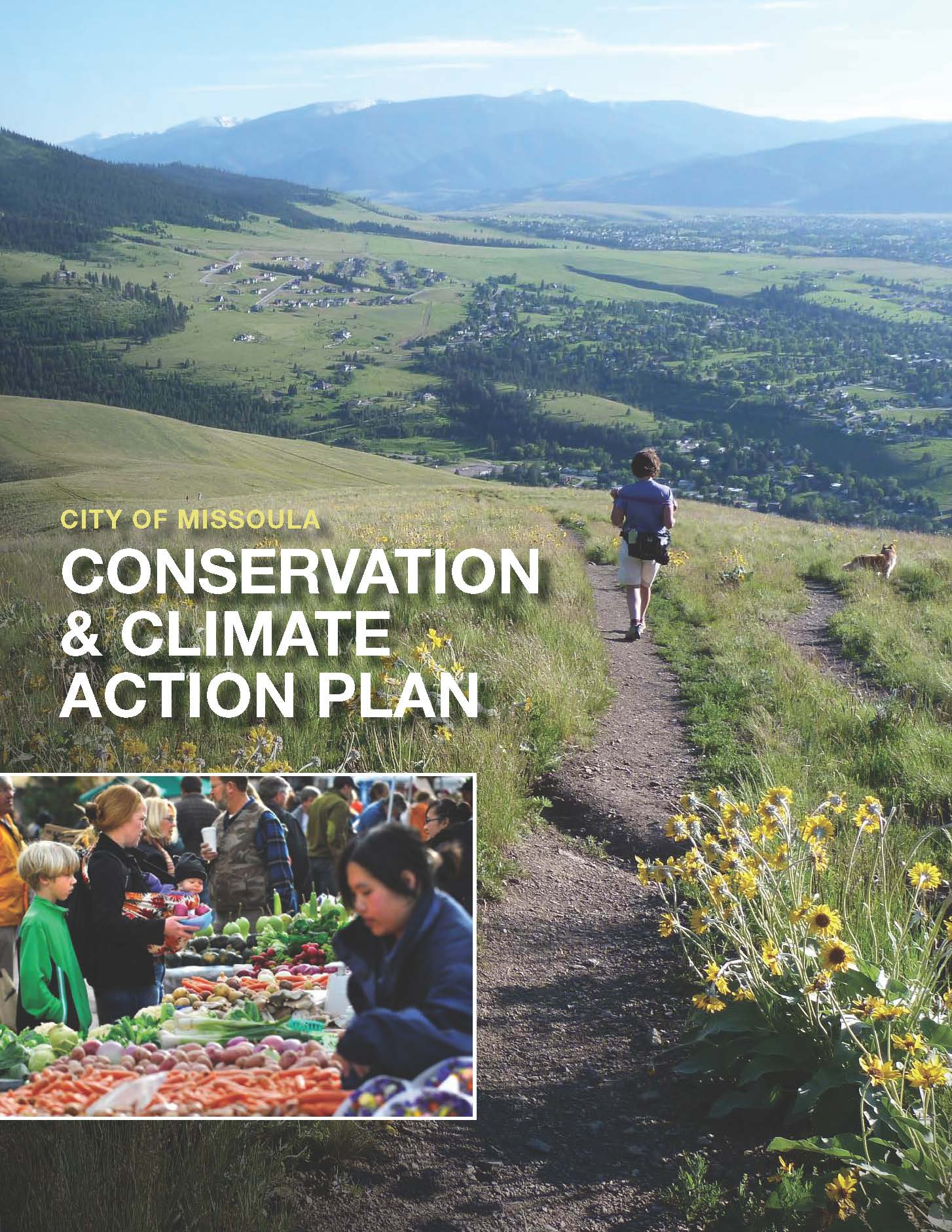 Conservation and Climate Action Plan Cover Page
