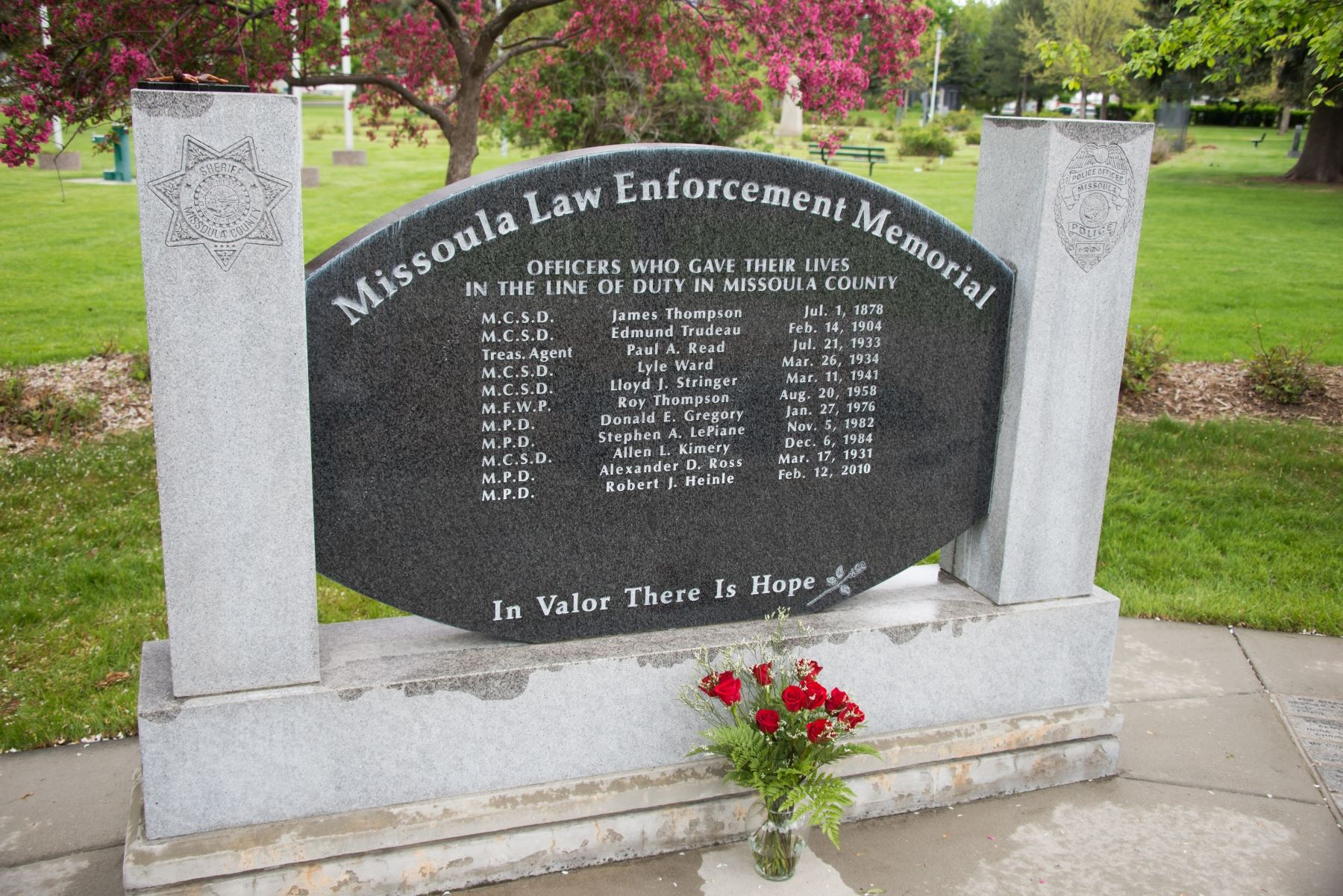 Law Enforcement Memorial Stone