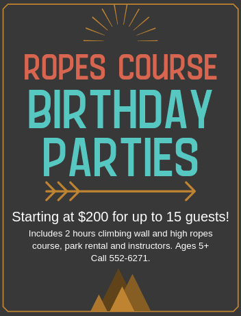 ropes bday parties png